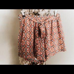 multicolored comfy shorts